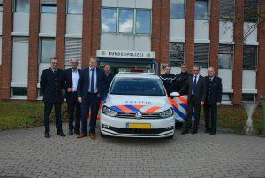 Foto: Büro Wilfried Oellers MdB; Albert Stegemann MdB (3.v.l.) und Wilfried Oellers MdB (2.v.r) besuchen das GPT Bad Bentheim