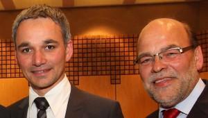 Wilfried Oellers (CDU) und Norbert Spinrath (SPD). FOTO: jl (Archiv)