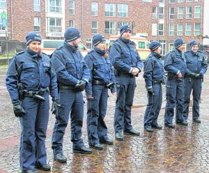 So wie hier beim Rathaussturm zu Karneval in Übach wünscht sich Wilfried Oellers mehr Polizeipräsenz in der Region. Foto: Günther von Fricken