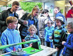 Für die Kinder gab es beim CDU-Grillfest lustige Wettbewerbe in verschiedenen Disziplinen / Foto: Kolodzey